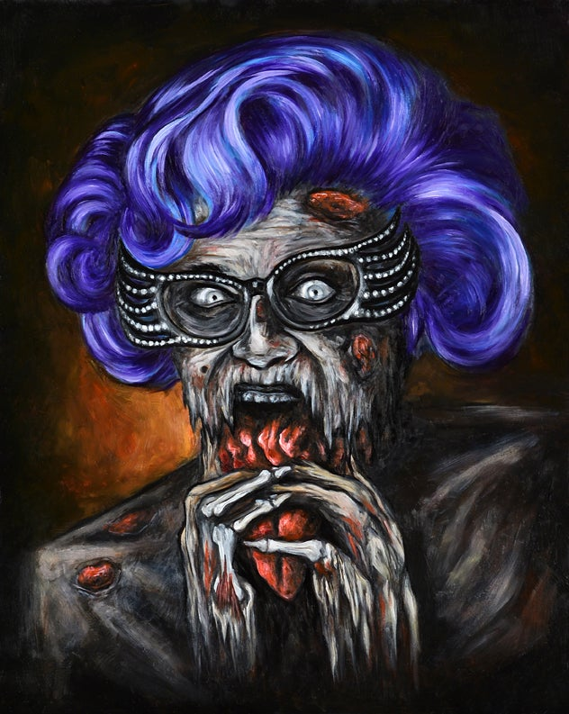 Image of Zombie Dame Edna