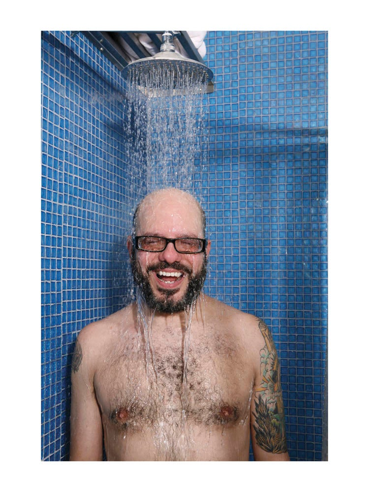 "Image of David Cross 18""x24"" Print"