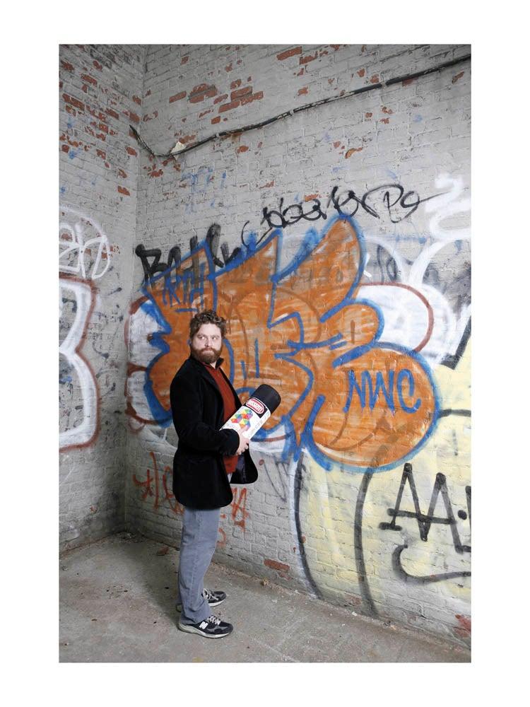"""Image of Zach Galifianakis 18""""x24"""" Print"""