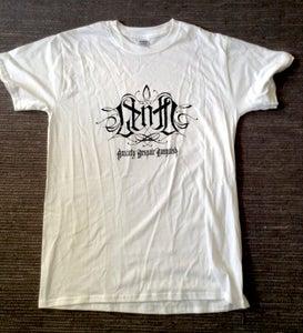 Image of Viewfromthecoffin/Lento - Logo White T-shirt