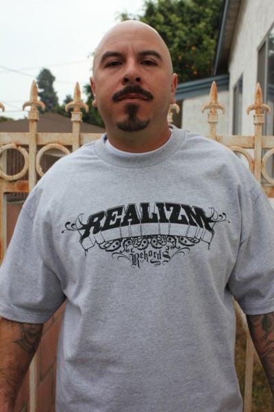 Image of Realizm Rekords Logo (Men & Womens Ts)
