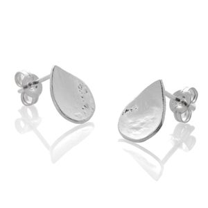 Image of Tiny Teardrop Stud Earrings