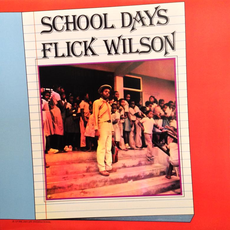 Image of Flick Wilson - School Days LP (Dub Irator)