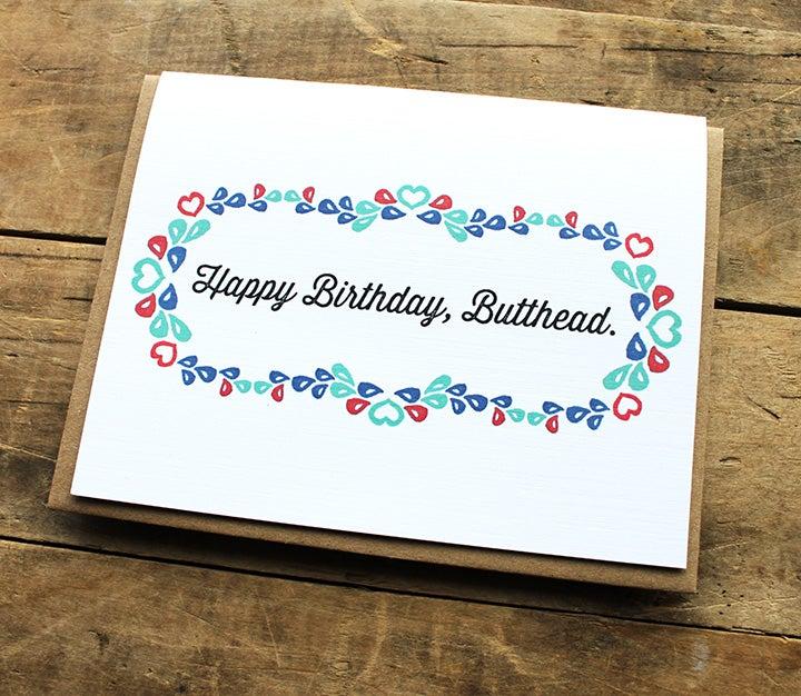 Image of Happy Birthday, Butthead.