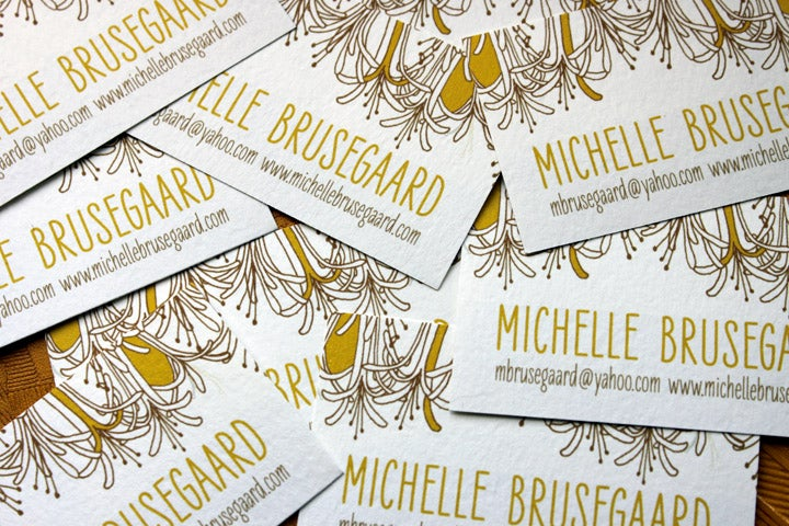 Image of Honeysuckle Calling Cards