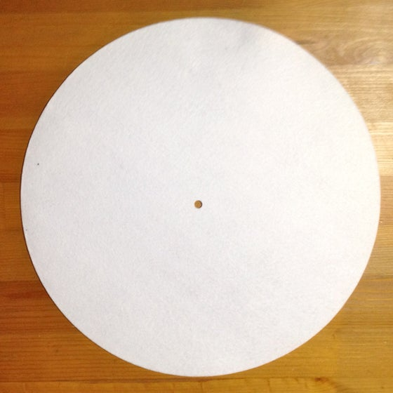 """Image of SLIPMAT - 12"""" BLANK WITH PLASTIC SLIPPY COATING ON 1 SIDE (PRICE PER PAIR)"""