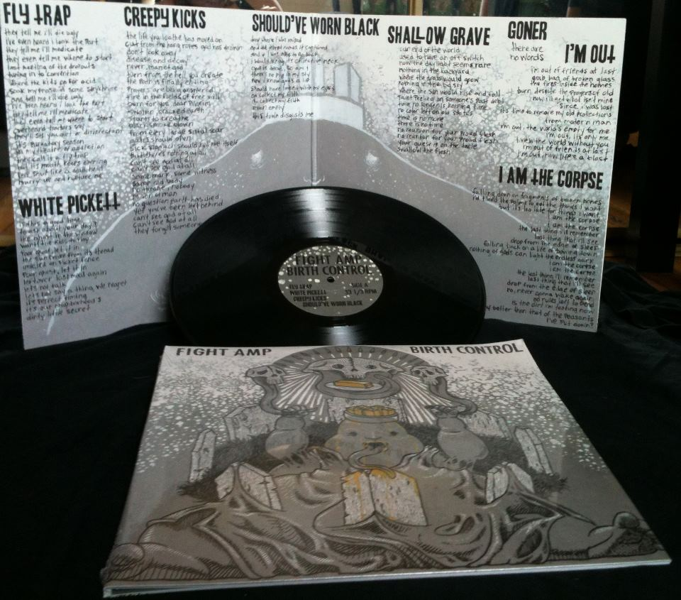 Image of Fight Amp - Birth Control LP
