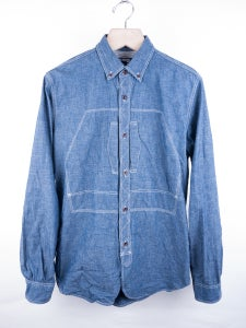 Image of Junya Watanabe MAN - Welt Pocket Chambray Work Shirt