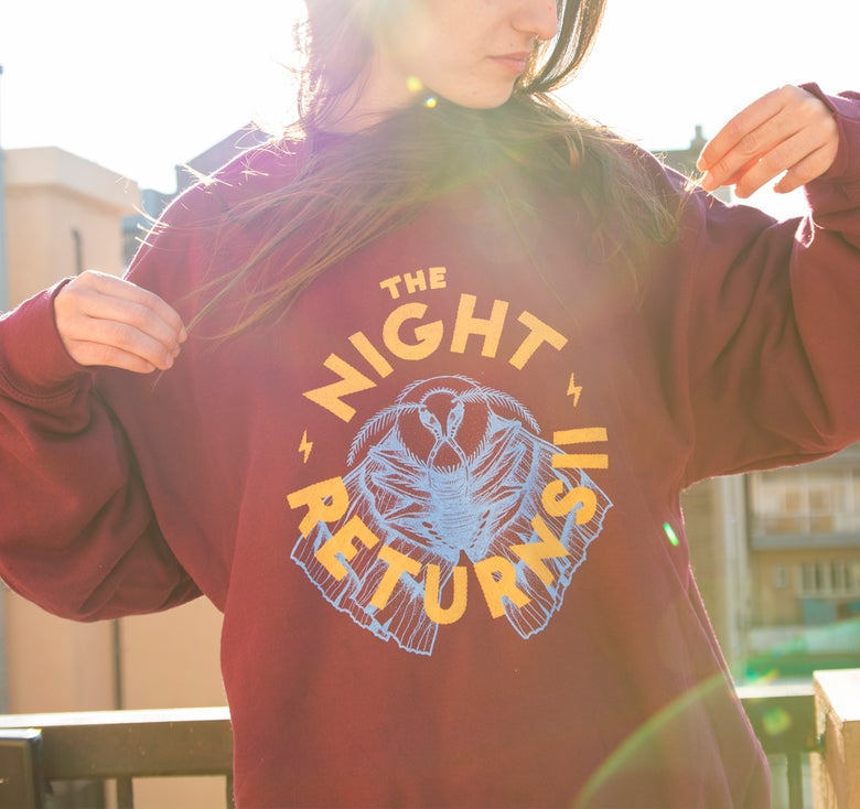 Image of Sweatshirt 'The Night Returns'