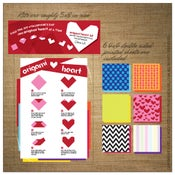 Image of Valentine | Origami Heart Kit