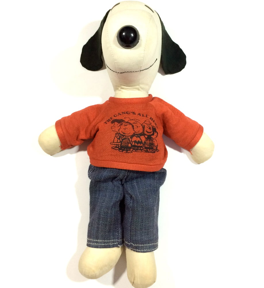 Image of VINTAGE SNOOPY DOLL