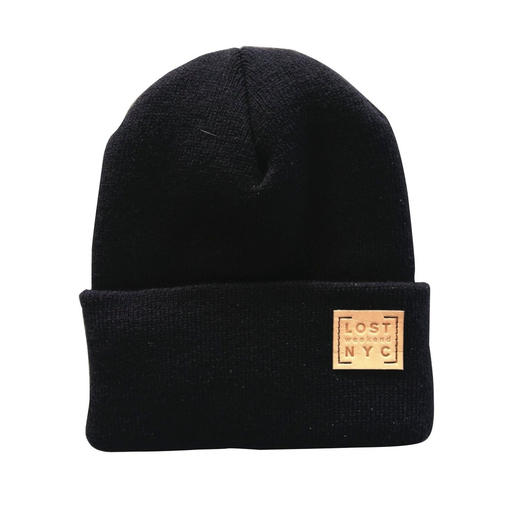 Image of LOST WEEKEND NYC BEANIE