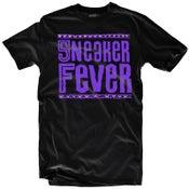 "Image of LIKE MIKE ""Sneaker Fever"" Black/Purple"