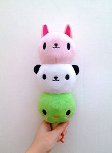 Image of Kawaii Dōbutsu Totem Dango 12 inch Plush