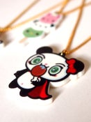 Image of Kawaii Superhero Panda Necklace