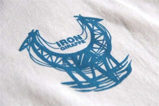 Image of Iron Giraffe T-Shirt (White)