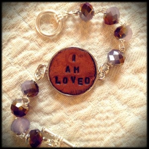 "Image of ""I Am Loved"" Bracelet"