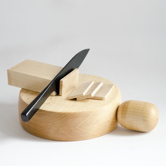 Image of Cheeeeese w/ Maple Handle