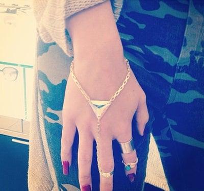 Image of Aurora Galactic Ring Bracelet