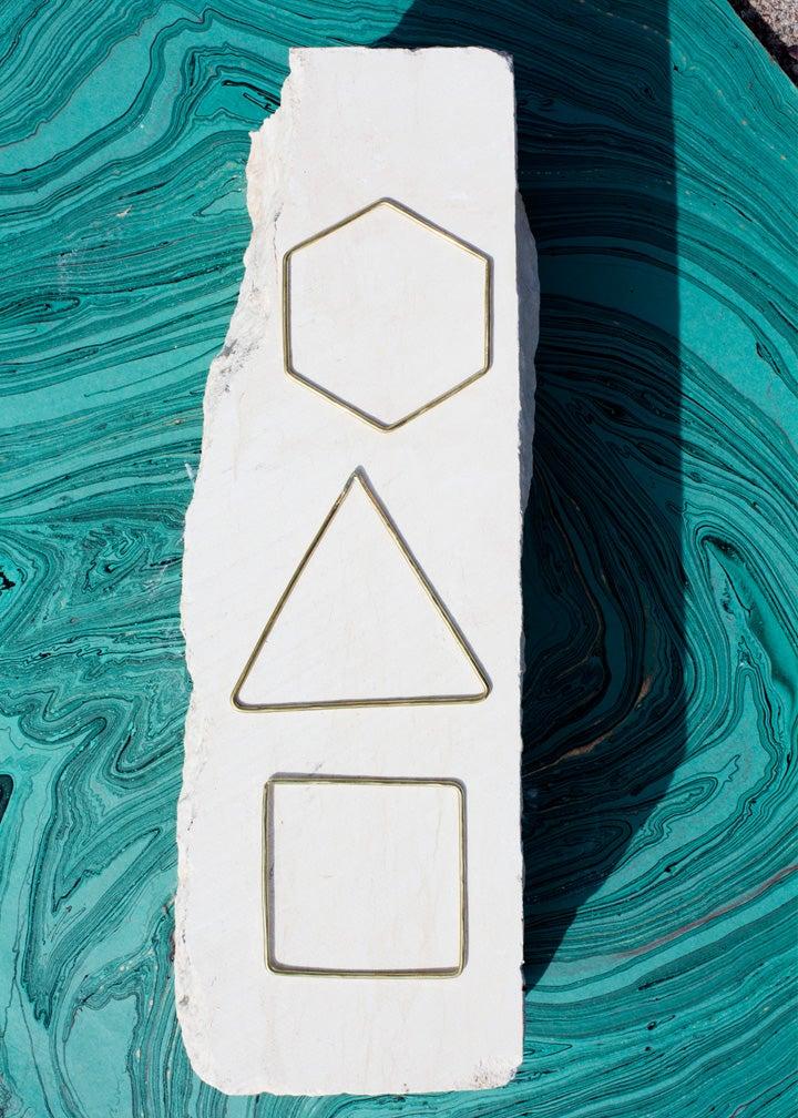 Image of Hexagon Bangle