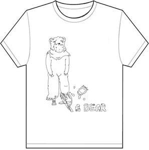 Image of Bear Trap T Shirt - White