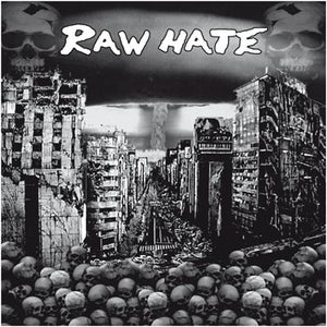 """Image of RAW HATE """"S/T"""" 12"""""""