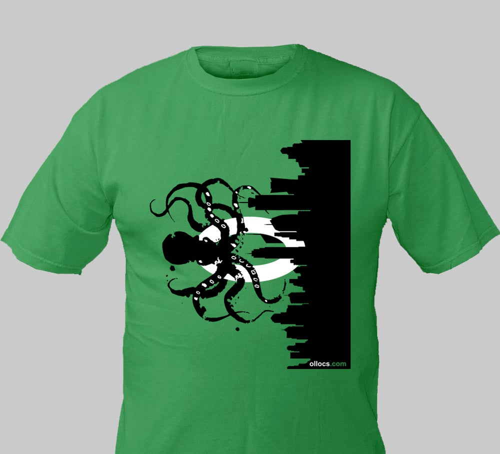 Image of Olloctopus T-Shirt (Green)