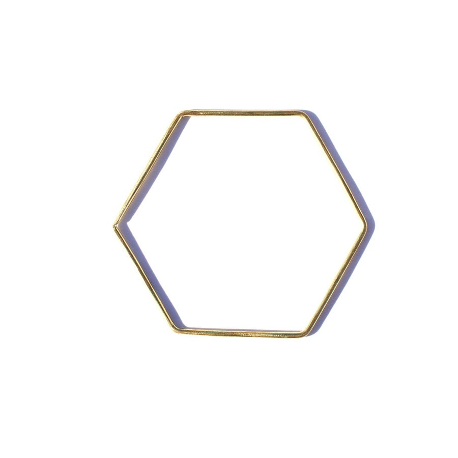 Image of Hexagon Bangle