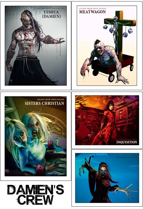 "Image of Bundle #1 - Autographed Comics + 8""x10"" Print"