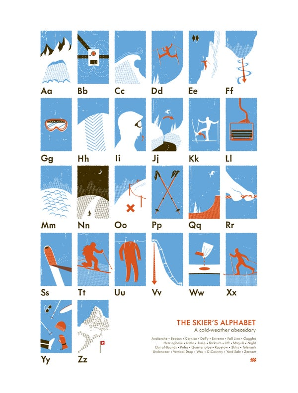 Image of The Skier's Alphabet