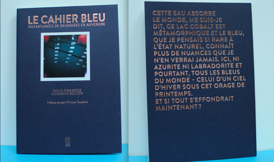 Image of Le Cahier bleu volume 1