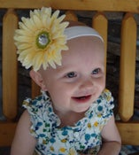 Image of Floral Baby Headband