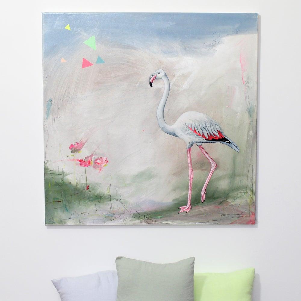 Image of Tableau {Flamingo}
