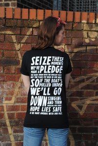 "Image of ""Seize These Moments"" T-Shirt [BLACK]"