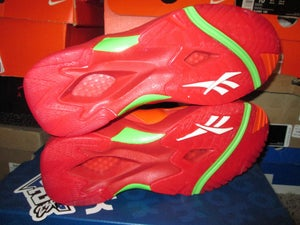 "Image of Reebok Kamikaze 2 Mid ""Packer Shoes - Chili Pepper"""