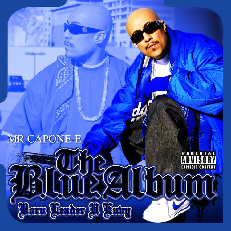 Image of Mr. Capone-E - The Blue Album