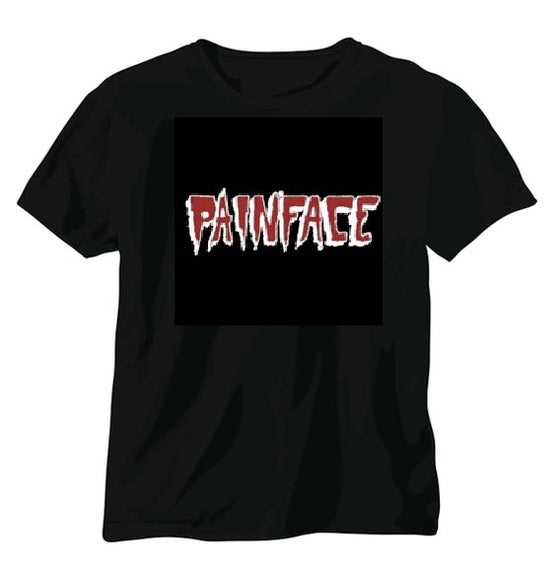 Image of Painface Retro Logo T-shirt