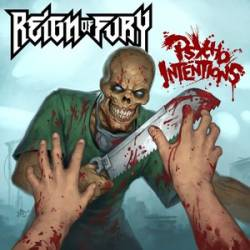 Image of Reign of Fury - Psycho Intentions CD