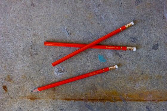 """Image of Palomino Orange HB """"California Republic""""  pencils"""