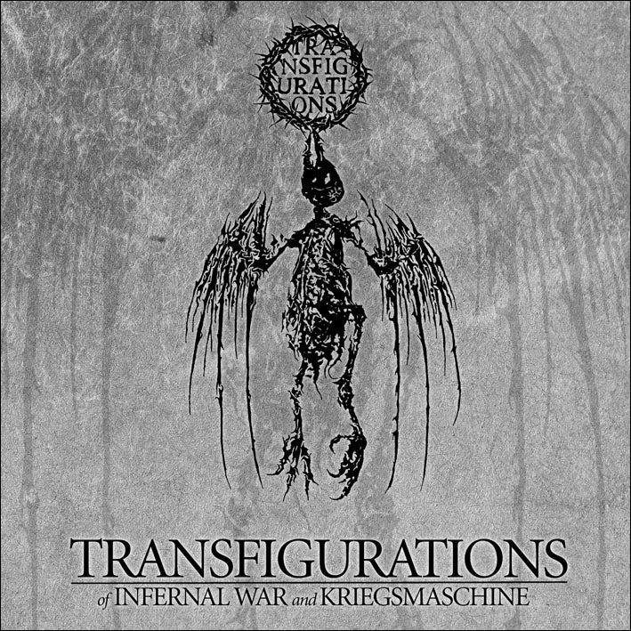 """Image of Kriegsmaschine / Infernal War """"Transfigurations"""" CD"""