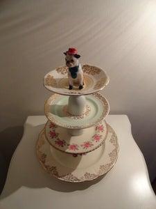 Image of Ronald the Dog Cakestand