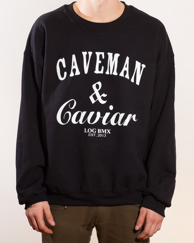 Image of Caveman & Caviar crewneck