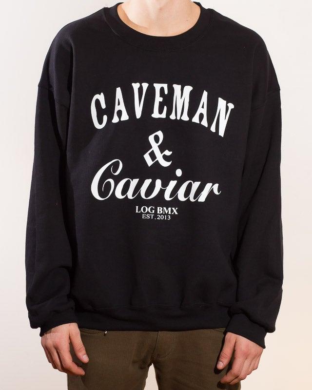 Image of Caveman & Caviar crewneck