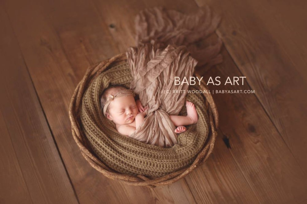Image of {Luminous} Maternity & Newborn Wrap SET