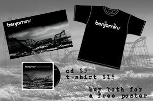 Image of Benjamins CD & Shirt Bundle