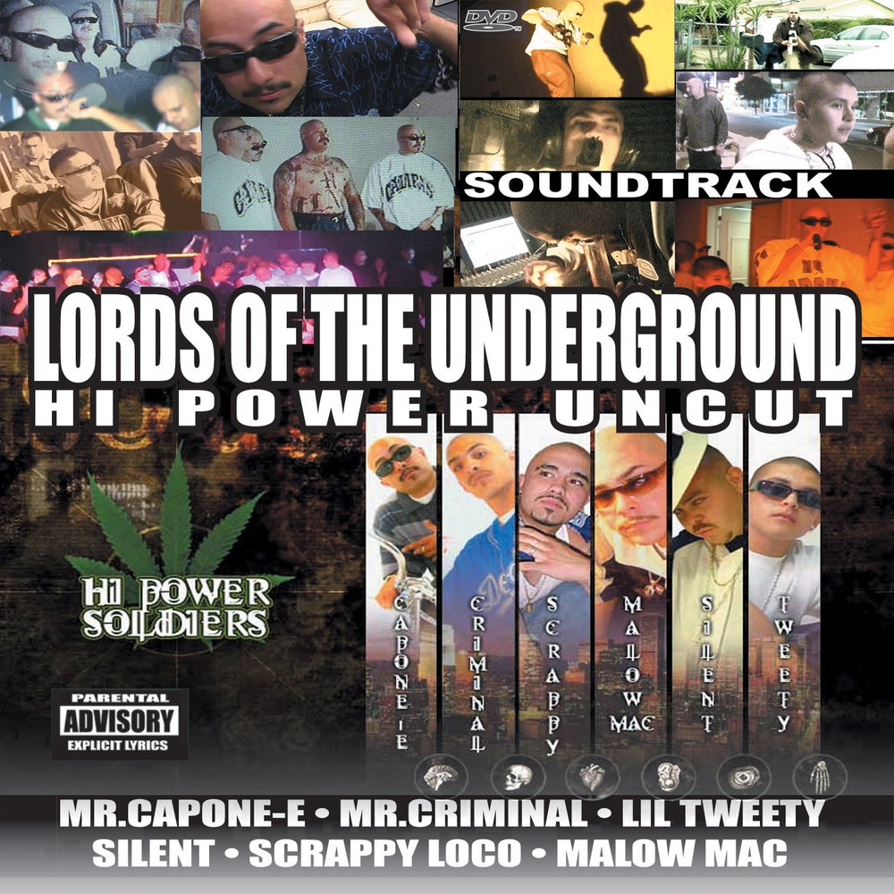 """Image of Lords Of The Underground """"Hi-Power Uncut"""""""