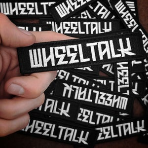 Image of Wheel Talk Logo Patch