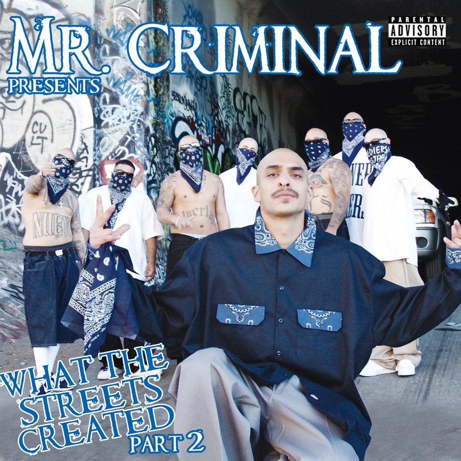 Image of Mr. Criminal presents What The Streets Created Part 2
