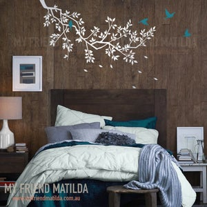 Image of NEW! Decal Branch With Birds po39