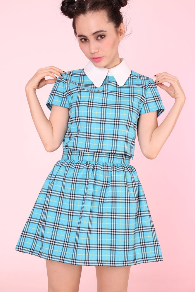 Image of GFD Blue Tartan Clueless Set